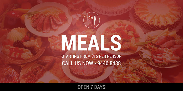Meals starting from $15.00 per person by Country Kitchen Catering, Perth